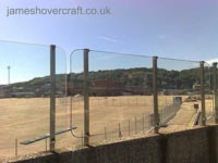 Dover Hoverport being demolished, June 2009 - The Hoverport building, now silent. Spot the control tower! (James Rowson).